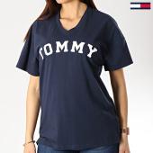 /achat-t-shirts/tommy-hilfiger-jeans-tee-shirt-femme-print-1615-bleu-marine-174829.html
