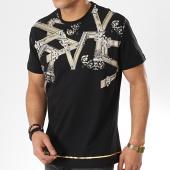 /achat-t-shirts/versace-jeans-tee-shirt-print-15-b3gtb72d-36609-noir-renaissance-dore-174890.html