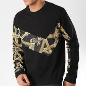 /achat-sweats-col-rond-crewneck/versace-jeans-sweat-crewneck-tum300-contrast-b7gtb7f0-13850-noir-renaissance-174895.html