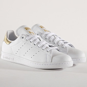 /achat-baskets-basses/adidas-baskets-stan-smith-ee8836-footwear-white-gold-metallic-175073.html