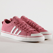 /achat-baskets-basses/adidas-baskets-nizza-bd7668-trace-maroon-footwear-white-crystal-white-175107.html