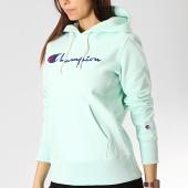 /achat-sweats-capuche/champion-sweat-capuche-femme-111555-bleu-turquoise-175015.html