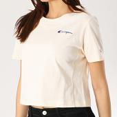 /achat-t-shirts/champion-tee-shirt-crop-femme-111582-beige-175023.html