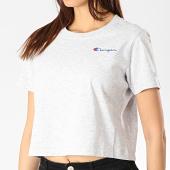 /achat-t-shirts/champion-tee-shirt-crop-femme-111582-gris-chine-175024.html