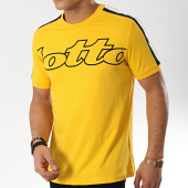 /achat-t-shirts/lotto-tee-shirt-avec-bandes-athletica-ii-210874-jaune-175119.html