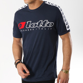 /achat-t-shirts/lotto-tee-shirt-avec-bandes-athletica-211187-bleu-marine-175120.html