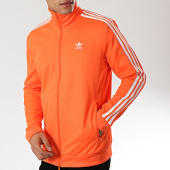 /achat-vestes/adidas-veste-de-sport-a-bandes-beckenbauer-dz4574-orange-fluo-175337.html