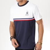 /achat-t-shirts/fff-tee-shirt-fan-f18069-blanc-bleu-marine-175201.html