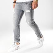 /achat-jeans/le-temps-des-cerises-jean-slim-915-gris-anthracite-175295.html