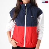 /achat-vestes/tommy-hilfiger-jeans-veste-zippee-femme-colorblock-6068-rouge-blanc-bleu-marine-175328.html