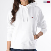 /achat-sweats-capuche/tommy-hilfiger-jeans-sweat-capuche-femme-classics-6582-blanc-175338.html
