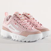 /achat-baskets-basses/fila-baskets-femme-disruptor-mesh-low-1010606-71d-chalk-pink-175475.html