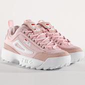 /achat-baskets-basses/fila-baskets-femme-disruptor-mesh-low-1010606-71d-chalk-pink-175475.html