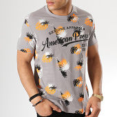 /achat-t-shirts/american-people-tee-shirt-surd-gris-floral-175684.html