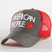 /achat-trucker/american-people-casquette-trucker-tage-gris-anthracite-rouge-175689.html