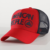 /achat-trucker/american-people-casquette-trucker-tage-rouge-bleu-marine-175692.html