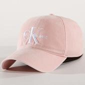 /achat-casquettes-de-baseball/calvin-klein-casquette-femme-monogram-5282-rose-175709.html