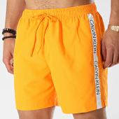/achat-maillots-de-bain/calvin-klein-short-de-bain-avec-bandes-drawstring-294-orange-175727.html