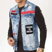 /achat-vestes-jean/classic-series-veste-jean-sans-manches-patchs-brodes-2593-bleu-wash-175633.html