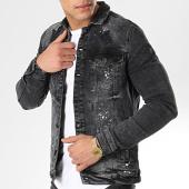 /achat-vestes-jean/classic-series-veste-jean-2553-noir-175634.html