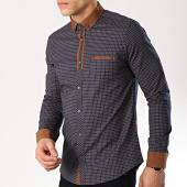 /achat-chemises-manches-longues/classic-series-chemise-manches-longues-3388-bleu-marine-marron-175639.html