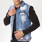 /achat-vestes-jean/classic-series-veste-jean-sans-manches-patchs-brodes-2592-bleu-wash-175660.html
