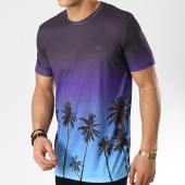 /achat-t-shirts/criminal-damage-tee-shirt-palm-tree-violet-bleu-ciel-degrade-175566.html
