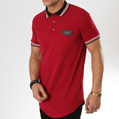 /achat-polos-manches-courtes/gianni-kavanagh-polo-manches-courtes-oversize-personalized-rib-bordeaux-175608.html