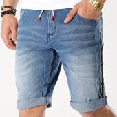 /achat-shorts-jean/mz72-short-jean-a-bandes-fipple-bleu-denim-175582.html
