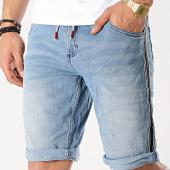 /achat-shorts-jean/mz72-short-jean-a-bandes-fipple-bleu-denim-175583.html