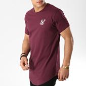 /achat-t-shirts-longs-oversize/siksilk-tee-shirt-oversize-13787-bordeaux-175638.html