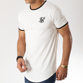 /achat-t-shirts-longs-oversize/siksilk-tee-shirt-oversize-13520-ecru-noir-175644.html