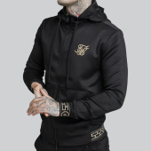/achat-vestes/siksilk-veste-zippee-capuche-13670-noir-dore-175657.html