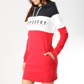 /achat-robes-jupes/superdry-robe-sweat-capuche-femme-track-and-field-g80120nt-rouge-noir-blanc-175624.html