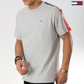 /achat-t-shirts/tommy-hilfiger-jeans-tee-shirt-avec-bandes-sleeve-graphic-6082-gris-chine-175696.html