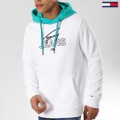 /achat-sweats-capuche/tommy-hilfiger-jeans-sweat-capuche-colorblock-6040-blanc-175734.html