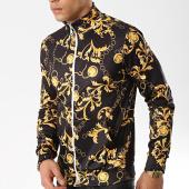 /achat-vestes/aarhon-veste-zippee-g91157-noir-jaune-renaissance-175743.html