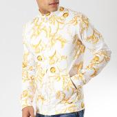 /achat-vestes/aarhon-veste-zippee-g91157-blanc-jaune-renaissance-175744.html