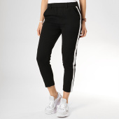 /achat-pantalons-carreaux/girls-only-pantalon-avec-bandes-femme-h278nb-noir-blanc-175843.html