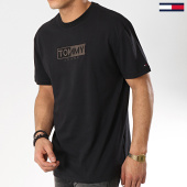 /achat-t-shirts/tommy-hilfiger-jeans-tee-shirt-logo-6215-noir-175737.html