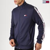 /achat-vestes/tommy-sport-veste-zippee-avec-bandes-tape-0044-bleu-marine-175770.html
