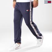 /achat-pantalons-joggings/tommy-sport-pantalon-jogging-avec-bandes-tape-00645-bleu-marine-175774.html