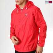 /achat-coupe-vent/tommy-hilfiger-jeans-coupe-vent-back-logo-0064-rouge-175778.html