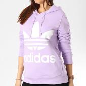 /achat-sweats-capuche/adidas-sweat-capuche-femme-trefoil-dv2566-lilas-175934.html