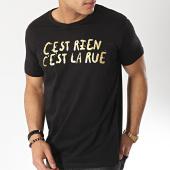 /achat-t-shirts/cest-rien-cest-la-rue-tee-shirt-21-noir-or-175905.html