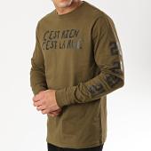 /achat-t-shirts-manches-longues/cest-rien-cest-la-rue-tee-shirt-manches-longues-21-vert-kaki-175911.html