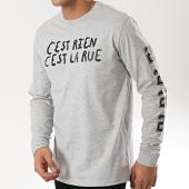 /achat-t-shirts-manches-longues/cest-rien-cest-la-rue-tee-shirt-manches-longues-21-gris-chine-175921.html