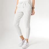 /achat-pantalons-carreaux/only-pantalon-raye-femme-poptrash-easy-blanc-175991.html