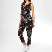 /achat-pantalons-carreaux/vero-moda-combinaison-femme-simply-easy-noir-floral-175980.html