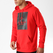 /achat-sweats-capuche/calvin-klein-sweat-capuche-performance-w337-rouge-176112.html